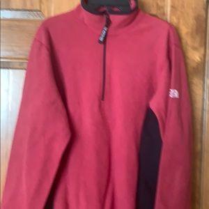 The North Face women's 1/4 Zip fleece jacket M